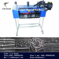 Quality roller blinds curtains rosary string plastic ball chain making machine machinery and injection  moulds mold nould for sale
