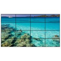 Quality 4 X 4 Led Backlight Lcd Video Wall Display For Restaurant , Lg Seamless Display Systems for sale