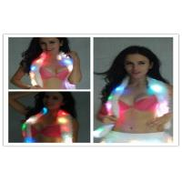 Wholesale Fashionable Multiple Color Led Light Up Scarf Faux Fur Boa Lady from china suppliers