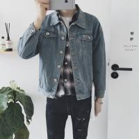 Wholesale Light Blue Mens Jean Jackets Casual Style All Match Two Pockets Anti Pilling from china suppliers