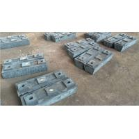 Quality High hardness and wear resistant High Cr Alloy Steel Casting of Lifter Bar for Mill Parts for sale