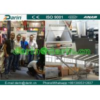 Wholesale Crispy Corn Puff Twin Screw Soybean , Rice Extruder Machine with Stainless Steel Materials from china suppliers