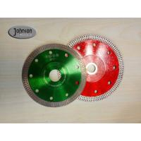 Buy cheap 115mm high quality Mesh Turbo Rim Rivet Both Reinforced diamond saw blade from wholesalers