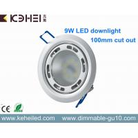 Wholesale Saa Driver 9w Led Downlight With Lextar 5630 Chips And Cutout 90mm , H35mm from china suppliers