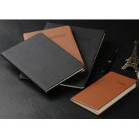 Wholesale A5/A4 Soft cover PU leather Notebook (red, black, blue...) with super quality from china suppliers