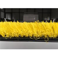 Wholesale Colored Artificial Turf Outdoor Yellow Artificial Grass With 140 Stitch Spine Yarn from china suppliers