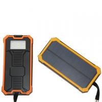 Wholesale 8000Mah Solar Powered Cell Phone Charger Mobile Battery Backup Charger from china suppliers