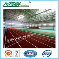 Buy cheap Spray Coating surface Athletic Track Outdoor rubber sport surfaces track from wholesalers