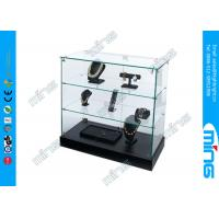 Wholesale Shopping Mall Glass Display Showcases , Frameless Glass Cabinets from china suppliers