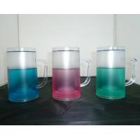 Wholesale PMB-4504L plastic beer mug colors water PS material Cold drinks beer mug custom LOGO from china suppliers