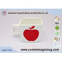 Wholesale 6oz 180ml Porcelain Photo Magic Mug With Apple Pattern Decoration from china suppliers