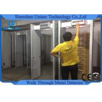 Wholesale Customzied ABS material walk through metal detector door frame UB500 6 zones from china suppliers