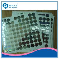 Quality Custom Hologram Stickers , Gloss Laminating / Embossing Warranty Labels for sale