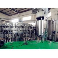 Wholesale Food Stage Carbonated Beverage Filling Machine High Speed For Different Bottles from china suppliers