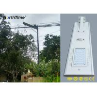 Wholesale Customized Dimmable Solar LED Street Light Can Work 7 Rainy Days from china suppliers