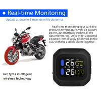 Wholesale Global use Motorcycle Tire Pressure Monitoring System TPMS Sensors with External Sensor from china suppliers
