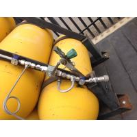 Portable Natural Gas / CNG Storage Tanks , CNG Steel Cylinder Cascade
