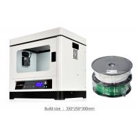 Wholesale High Precision Commercial 3D Printer , White Fused Deposition Modeling 3D Printing Machine from china suppliers