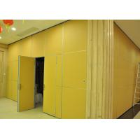 Wholesale Moving Vinyl Metal Partition Walls Fabric Training Room Folding Partition from china suppliers