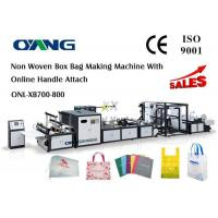 Wholesale Multifunctional Automatic Non Woven Bag Making Machine Computerized 18 KW from china suppliers