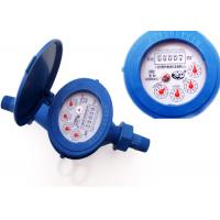 Buy cheap Super Dry Dial Plastic Water Meters Anti Magnetic ISO 4064 Class B from wholesalers