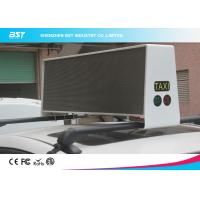 Wholesale Waterproof SMD 3 In 1 P5 Taxi Roof LED Display 1R1G1B For Commercial Advertising from china suppliers
