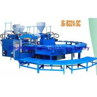 Wholesale Colorful PVC Sandal Shoe Rotary Injection Molding Machine For Making Shoes from china suppliers
