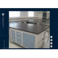 Wholesale Steel Material Laboratory Workbench Science Laboratory Furnitue Adjustable Height from china suppliers