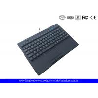 Wholesale Customized Layout 87keys Waterproof Keyboard With On/Off Switch Built In Touchpad from china suppliers