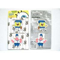 Wholesale Strong Custom Personalised Magnetic Bookmarks SpongeBob SquarePants Style from china suppliers