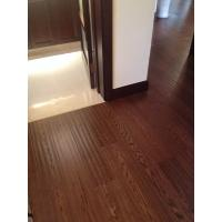 Wholesale Grade A solid wood floor Multilayer Flooring , Natural Vertical Glossy from china suppliers