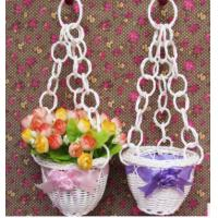 Wholesale Plastic Rattan Flower Basket from china suppliers