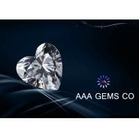 Wholesale 0.93ct Heart Cut Diamond Moissanite VVS1 For  Shopping Malls 6.5mm from china suppliers