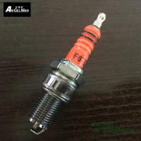 Wholesale Orange  torch F6TC Copper Spark Plugs same as BP6ES M14 * 1.25 mm short from china suppliers
