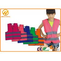 Wholesale Roadway Security Child Safety Reflective Safety Vests EN1150 CE / ROHS / FCC from china suppliers