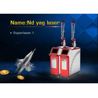 Wholesale Q Switch Nd Yag Laser for Tattoo Pigmentation Birthmark Frackle Removal Machine from china suppliers