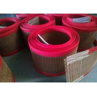 Wholesale PTFE polyester mesh fabric , teflon polyester mesh fabric for conveyor belt / griddling cloth, made by PTFE coated from china suppliers