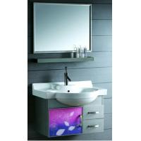 Wholesale Modern Design Water Proof / Painting Environmentall Stainless Steel Bathroom Base Cabinet from china suppliers