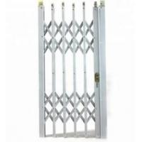 China Aluminium Concertina Window Security Grilles , Foldable Window Grill on sale