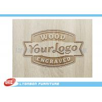 Wholesale Customized Engraved Wood Display Logo For Display Accessory , Paint Finished from china suppliers