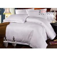 Quality Professional Hotel Comforter Sets , Polycotton Bed Linen For Hotels 115GSM for sale