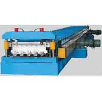 Wholesale Column Corrugated Roll Forming Machine For Steel Structure Decking from china suppliers