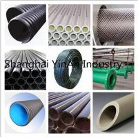 Buy cheap Plastic Corrugated Pipe for auto parts / PE hose Perforated Drainage Polyethylene Plastic Pipe from wholesalers