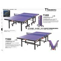 Wholesale Double Folding Indoor Table Tennis Table , Official Game Power Table Tennis Table from china suppliers