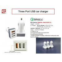 Wholesale Quick Charger 3.0 Patent Portable  Intelligent Universal USB Car Charger for Iphone / iPod/Ipad/Samsung QCC207 from china suppliers