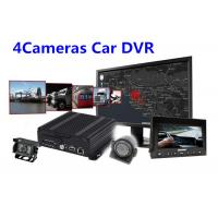 Wholesale IOS Android Real Time Monitoring 4 Camera Car SD Card Digital Video Recorder from china suppliers