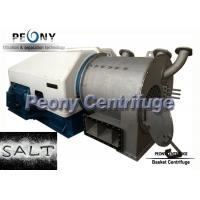 Wholesale Two - Stage Pusher Centrifuge / Large Capacity Salt Dewatering Centrifuge Equipment from china suppliers