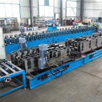 Quality Punching Mould Cable Tray Roll Forming Machine , 9 Rollers Roll Forming Equipment for sale