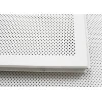 Wholesale 600 x 600 Acoustic Ceiling Tiles Aluminum Perforated Metal Ceiling for Open Area from china suppliers