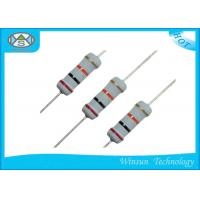 Wholesale High Reliability Metal Oxide Resistor , Gray Small Size 470 Ohm 1 Watt Resistor from china suppliers